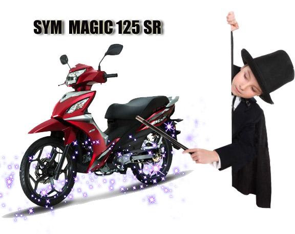 """Γιατί το Sym MAGIC 125 SR χαρακτηρίζεται από την Ελληνική αγορά ως """"Μαγικό""""…"""