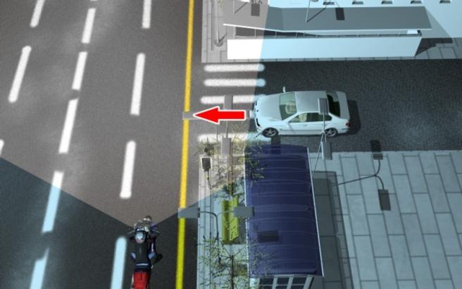 Συμβουλές για ασφαλή μετακίνηση με μοτοσυκλέτα.